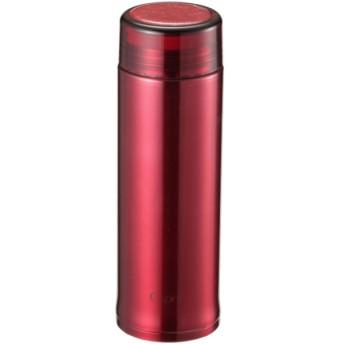 シーエスプリ 軽量スリムパーソナルボトル300(クリアレッド) UE-3399