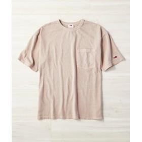 FRUIT OF THE LOOM フェードカラーTシャツ メンズ ベージュ