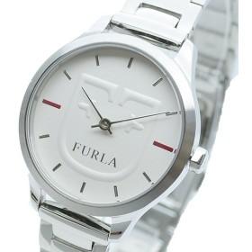 FURLA フルラ 腕時計 レディース R4253125501 LIKE SCUDO クォーツ ホワイト シルバー