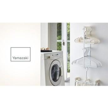 マグネット洗濯ハンガー収納ラック タワー ホワイト ライフスタイル 収納用品・収納家具 衣類収納 au WALLET Market