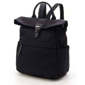 30%OFF Y'SACCS(bag) (イザック(バック)) 口折れナイロンリュックサック ブラック