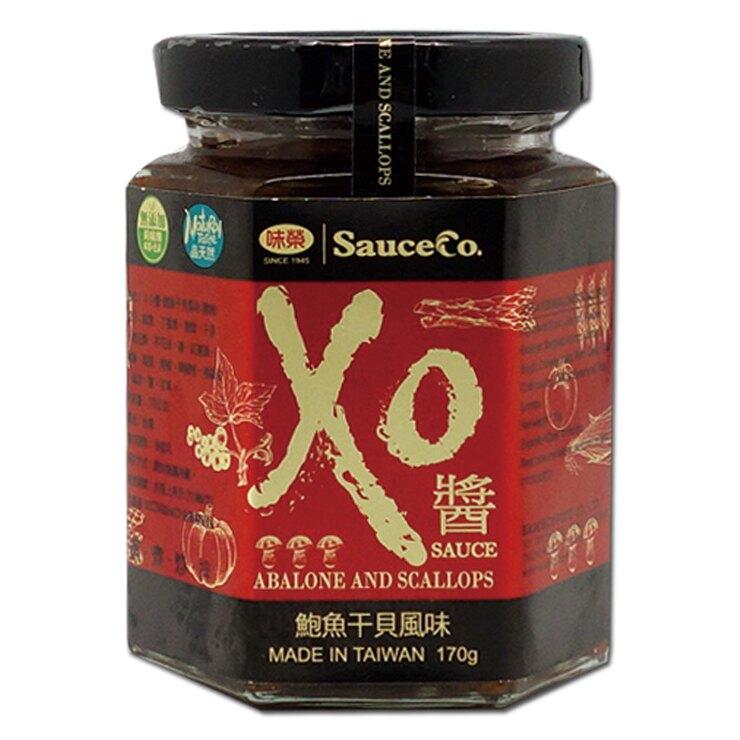 【味榮】XO醬-鮑魚干貝風味170g