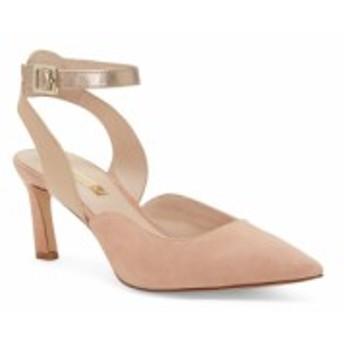 ルイーズ エ シー LOUISE ET CIE レディース パンプス シューズ・靴 Kayin Ankle Strap Pump Pink Suede/Blush Leather