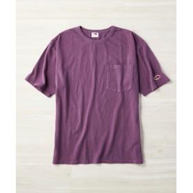 FRUIT OF THE LOOM フェードカラーTシャツ メンズ パープル