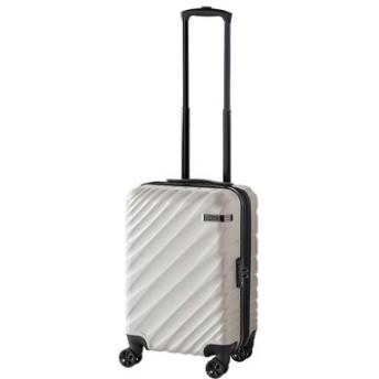 (Bag & Luggage SELECTION/カバンのセレクション)エース スーツケース 機内持ち込み Sサイズ 軽量 拡張 36L/43L ACE 06421 オーバル ダイヤルロック/ユニセックス ライトグレー 送料無料
