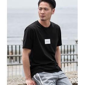 (SILVER BULLET/シルバーバレット)CavariA【キャバリア】天竺プリントクルーネック半袖Tシャツ/メンズ ブラック