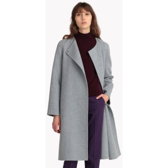 【Theory】予約 New Divide Luxe Cloak Coat DF