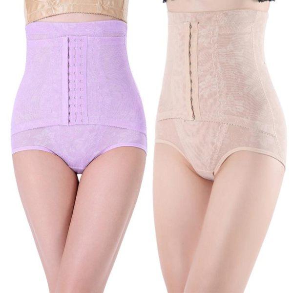 束腹褲塑身褲 收腹褲束腰 高腰 提臀 網紗產後保養提臀內褲《小師妹》yf2298
