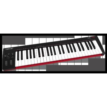 DAW連携MIDIコントローラー 49鍵 ベロシティ対応フルサイズキーボード ホイール/フェーダー/コントロールボタン搭載 SE49
