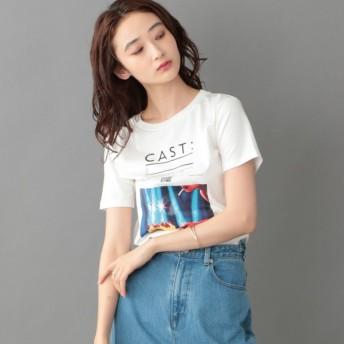 【キャスト(CAST:)】 【カットソー人気NO.1】バースデーケーキTシャツ 【FRONTプリント】 ホワイト