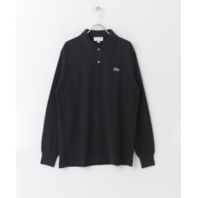 (URBAN RESEARCH DOORS/アーバンリサーチドアーズ)LACOSTE ポロシャツ/メンズ NOIR 送料無料
