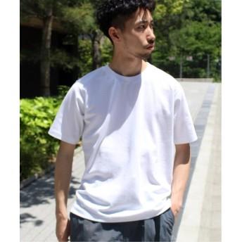 EDIFICE 【撥水&汗染み防止】FUNCTIONAL COTTON Tシャツ ホワイト S