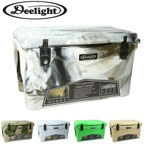 Deelight ディーライト Iceland Cooler Box 45QT アイスランドクーラーボックス 【保冷/大型/BBQ/アウトドア/ピクニック/海水浴】
