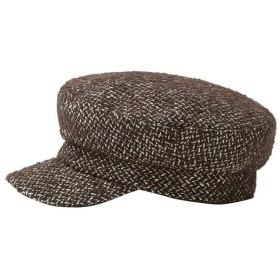 キャップ帽子 - LIMA (ダークブラウン)