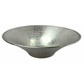 錫製末広皿 93-9