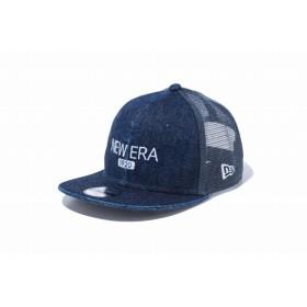 【ニューエラ公式】キッズ 9FIFTY トラッカー ジャパンデニム ニューエラ 1920 ウォッシュドデニム × スノーホワイト 男の子 女の子 49.2 - 53cm キャップ 帽子 12108758 NEW ERA メッシュキャップ