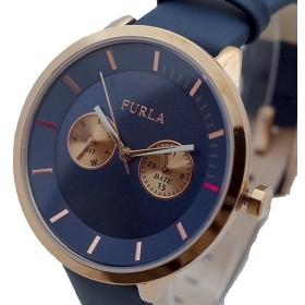 FURLA フルラ 腕時計 レディース R4251102549 METROPOLIS クォーツ ネイビー