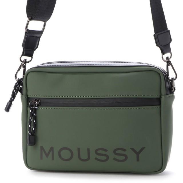 マウジー moussy LOGO BASIC BELT POUCH M01-1-00033 (グリーン)