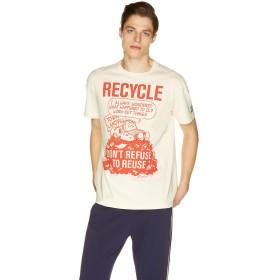ベネトン(ユナイテッド カラーズ オブ ベネトン) Tシャツ・カットソーJCC メンズ オレンジ L (国内L相当) 【BENETTON (UNITED COLORS OF BENETTON)】