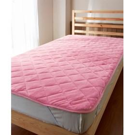 ウォームコア 吸湿発熱×蓄熱保温わた あったかフランネル敷パッド 敷きパッド・ベッドパッド