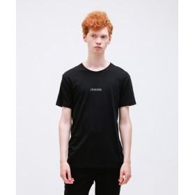 ラブレス ポリクレスト ロゴ クルーネックTシャツ メンズ ブラック M 【LOVELESS】