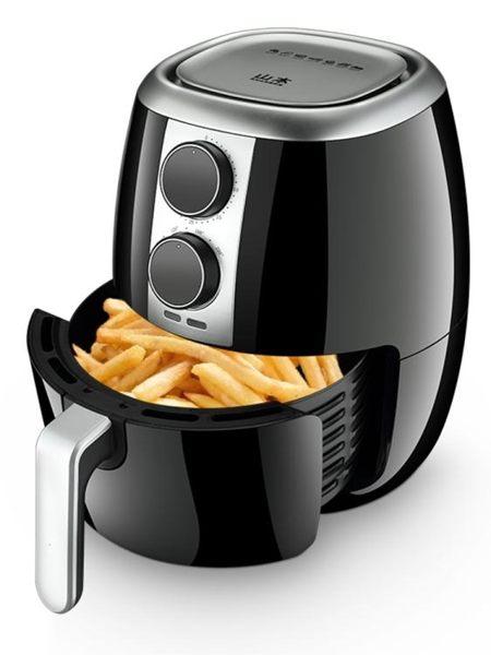 空氣炸鍋 家用五代空氣炸鍋大容量 智能無油煙薯條機電炸鍋薯條 莎瓦迪卡