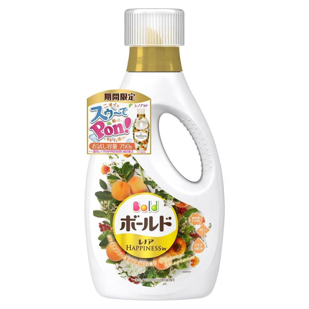 日本 p&g 杏花香 洗衣精 750ml