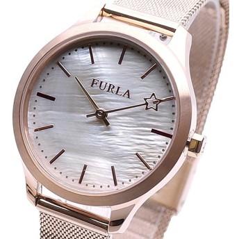 FURLA フルラ 腕時計 レディース R4253119505 LIKE クォーツ ホワイトシェル ローズゴールド
