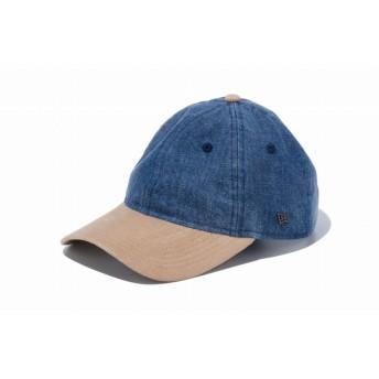 【ニューエラ公式】 9THIRTY クロスストラップ ウォッシュドデニム スエードバイザー メンズ レディース 56.8 - 60.6cm キャップ 帽子 12108967 NEW ERA