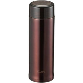 シーエスプリ 軽量スリムパーソナルボトル300(クリアブラウン) UE-3404