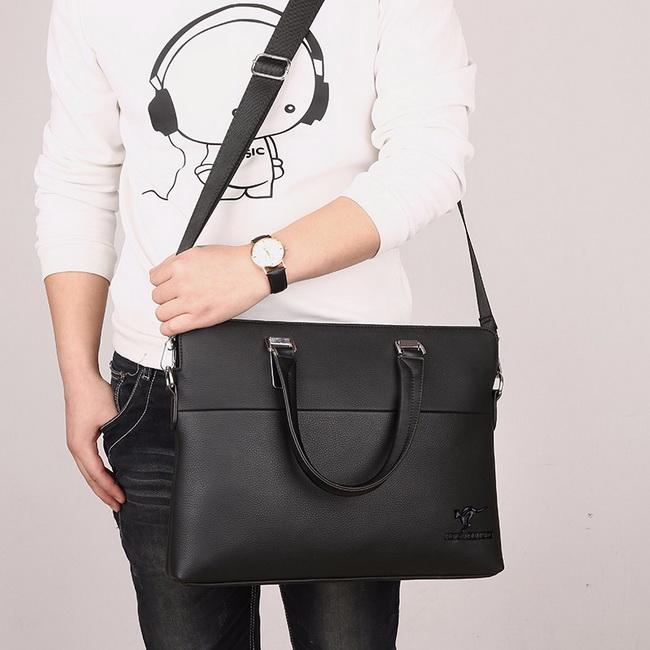 FOFU-側背包簡約商務風公事包斜背包側背包手提包【08B-T0060】