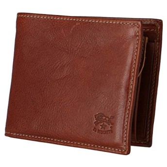 IL BISONTE(イルビゾンテ) 財布 メンズ 2 つ折り 小銭入れ付き メンズ二つ折り財布 C0487 MPO 566 [並行輸入品]