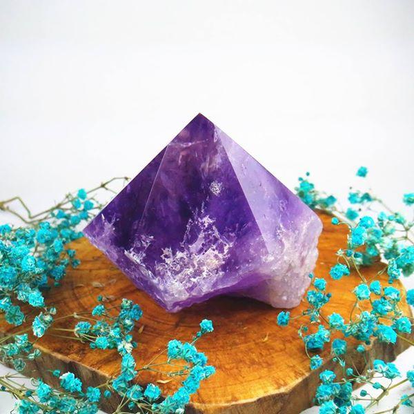 玻利維亞紫黃晶柱(AC180228-16) ~招偏財、正財、開智慧、增強運氣、改善人際關係
