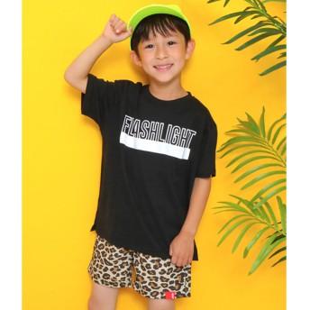 アナップキッズ ANAP KIDS ロゴプリントビッグTシャツ (ブラック)
