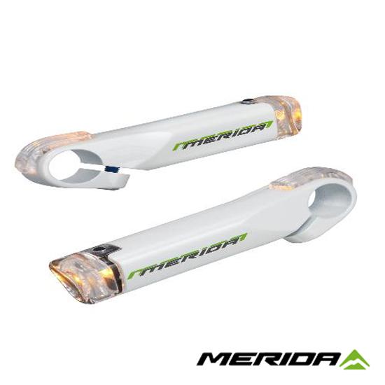 【關站倒數中】《MERIDA》美利達 方向燈輔助手把 白 2053003949