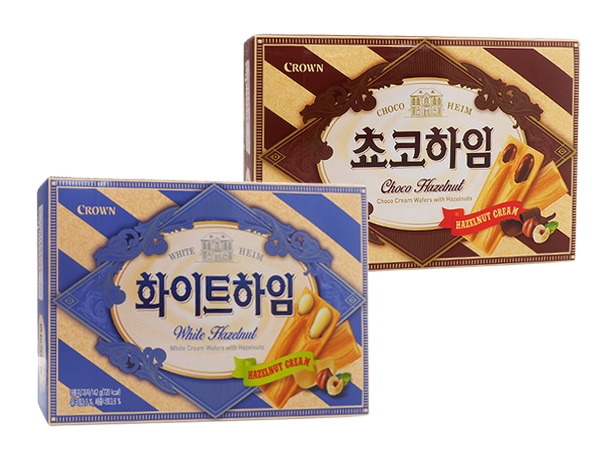 Crown~ 威化夾心酥餅(142g) 款式可選【D186216】