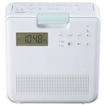 東芝コンパクト防水型CDラジオホワイトTY-CB100(W)