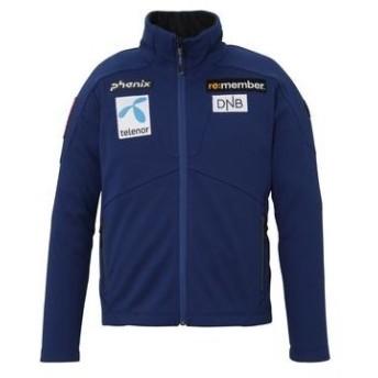 フェニックス PHENIX キッズ ジュニア コンペ タイプ SKI スキーウェア ジャケット Norway AlpineTeam Jr. Soft Shell Jacket PF9G2KT01 DB