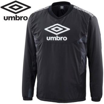 アンブロ サッカー TR インシュレーションプルオーバー メンズ UUUOJF39-BLK