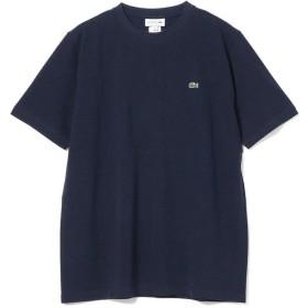 ビームス メン LACOSTE / 鹿の子クルーネックTシャツ メンズ 166_NAVY 5 【BEAMS MEN】