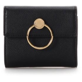 サマンサタバサ リング折財布 ブラック