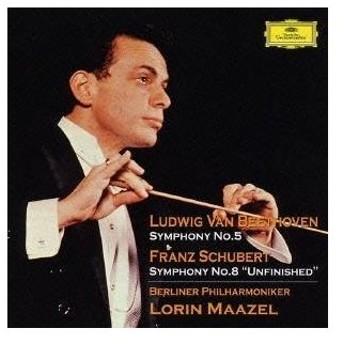 ロリン・マゼール/ベートーヴェン:交響曲第5番《運命》 シューベルト:交響曲第8番《未完成》《運命》 【CD】
