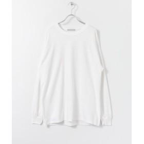 (SENSE OF PLACE/センスオブプレイス)グラフィックロゴバックプリントTシャツ/メンズ WHITE