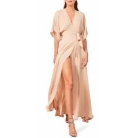 リフォーメーション REFORMATION レディース ワンピース ワンピース・ドレス Winslow Maxi Dress Champagne