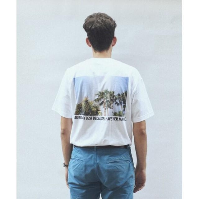 JOURNAL STANDARD relume SKIN / スキン PLANT PRINT Tシャツ ホワイト M