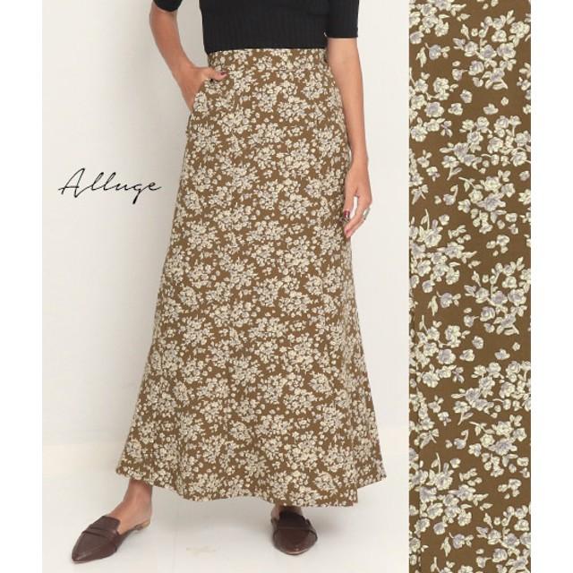 【セール開催中】ANAP(アナップ)フラワープリントマーメイドスカート