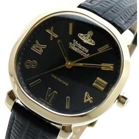 ヴィヴィアンウエストウッド VIVIENNE WESTWOOD 腕時計 レディース VV214GDBK クォーツ ブラック