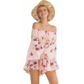 LUOSHA セクシーな ドレス サマー ビーチドレス 花柄ドレス Vestidos Verano white