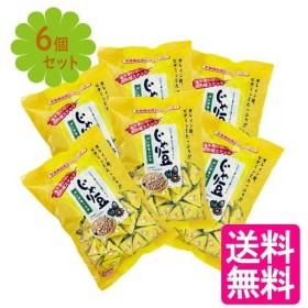 トーノー 業務用 じゃり豆 340g×6個セット 個包装 お菓子 おつまみ 栄養機能食品(ビタミンE)