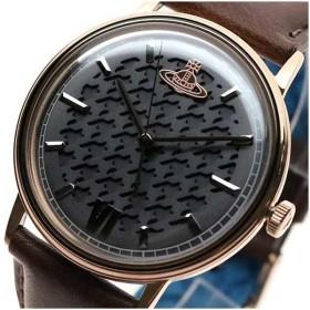 ヴィヴィアンウエストウッド VIVIENNE WESTWOOD 腕時計 レディース VV212RSBR クォーツ グレー ブラウン